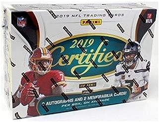 2019 Panini Certified NFL Football HOBBY box (10 pks/bx)