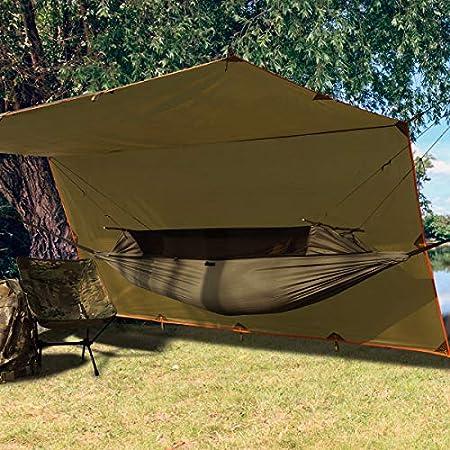 【6/4まで】FREE SOLDIER 蚊帳付きハンモック(260cm×90cm) 1,945円送料無料!