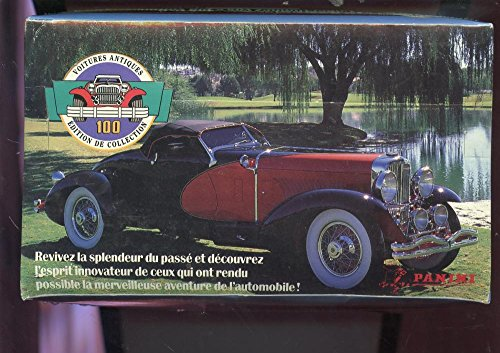 1992 Panini Canada Antique Cars Voitures Antiques Set Card Wax Pack Box