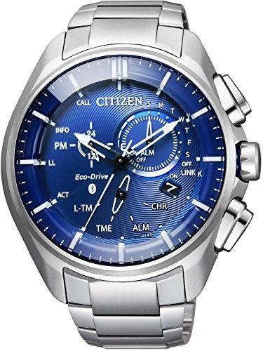 [シチズン] 腕時計 エコ・ドライブ ブルートゥース BZ1040-50L スーパーチタニウムモデル メンズ