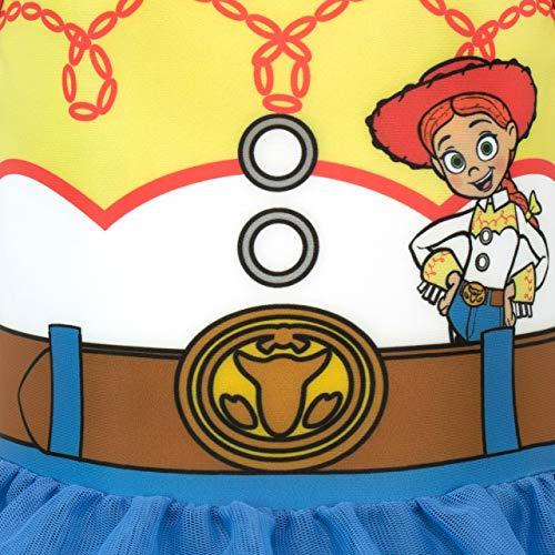 Disney Costume da Bagno per Ragazze Toy Story Jessie Blu 3-4 Anni