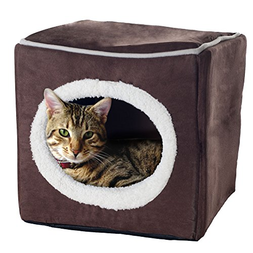 cubo gato de la marca Petmaker