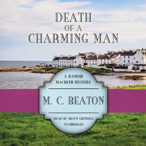 Death of a Charming Man audiobook cover art