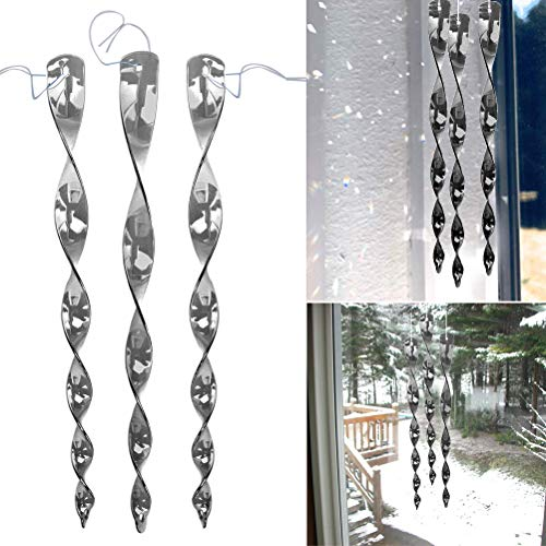 Schone Products (UK) - Acchiappasole dal design delicato, funziona bene con luce decorativa (argento)