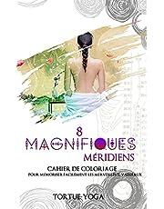 8 Magnifiques Méridiens: cahier de coloriage pour mémoriser facilement les merveilleux vaisseaux