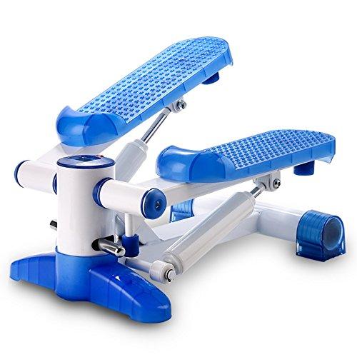 Stepper delle famiglie multifunzione a pedale idraulica Stovepipe sottile fitness attrezzature Muto Stepper ( colore : Blu )