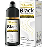 Herbal Natural Hair Color Shampoo for Grey Hair 400 ml- Instant...