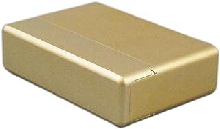 Yeleo Trosetry Scatola di Immagazzinaggio per, Portasigarette in Lega di Alluminio,18 Pezzi per Astuccio per Sigarette (oro)
