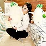 セクシー大根 抱き枕 ぬいぐるみ リアル 抱き枕 面白 おもちゃ 野菜 子供の日 プレゼント 誕生日 祝い (75cm)