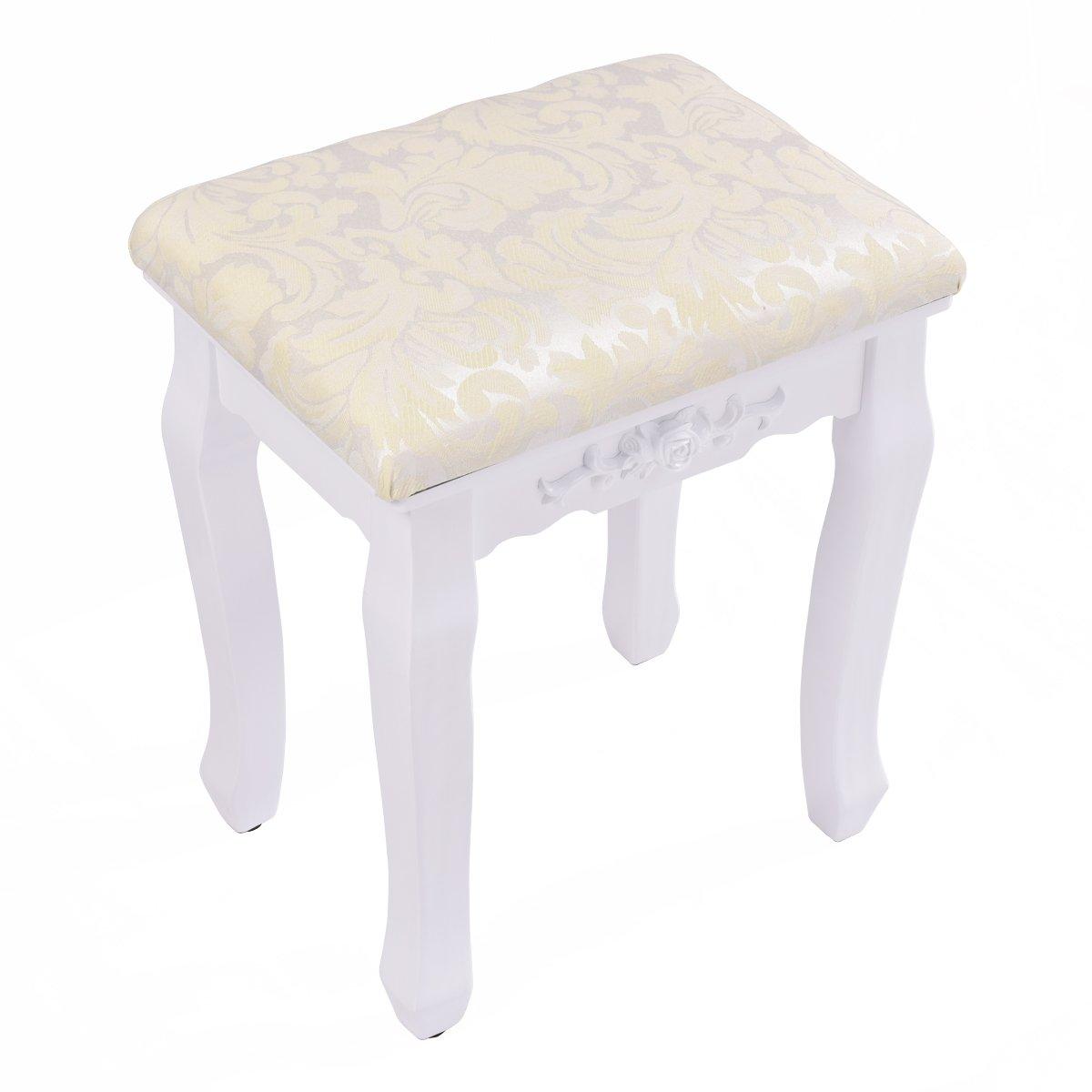 bath vanity stools amazon com rh amazon com contemporary vanity chairs for bathroom small vanity stool for bathroom