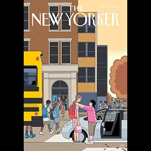 The New Yorker, September 17th 2018 (Amia Srinivasan, Evan Osnos, Jeffrey Toobin) copertina