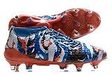 adidas Adizero Malice 7S SG–Chaussures de Football pour Homme, Bleu–(Bleu/Negbas/azusen) 431/3