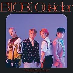 BTOB「Outsider (Japanese ver.)」のCDジャケット