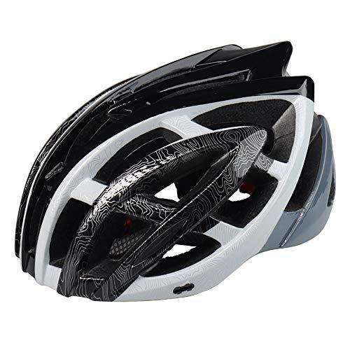 AH&Y Ajustable de Ciclo de la Bicicleta Cascos BMX Montaña Ruta Ciclo...