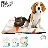 Selbstheizende Decke für Katzen & Hunde, Größe: 120 x 70 cm, Heizdecke waschbar, Wärmematte für Katzen raschelfrei, Katzendecke