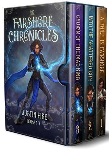 Farshore Chronicles Box Set: Books 1-3 (Farshore Omnibus Book 1) by [Justin Fike]