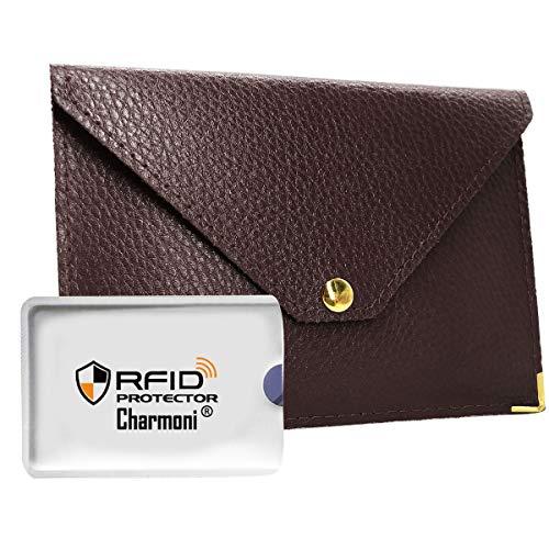 Charmoni , Porta passaporto, marrone (Marrone) - Mazlum_m