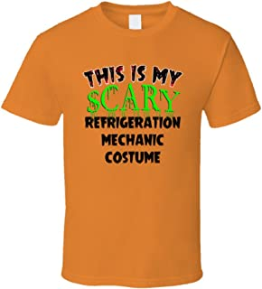 SHAMBLES TEES This is My Scary Refrigeration Mechanic Halloween Cool Trending Job T Shirt