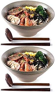 Ramen Suppenschalen, 2 Sets (6 Stück) 6 Unzen, große japan