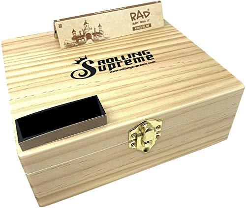 Reds Exklusives Filter Tips - Rolling Supreme Holz-Drehbox / Verwahrbox