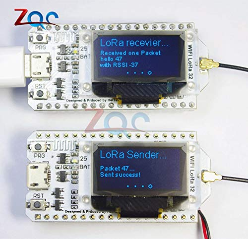 868MHz-915MHz SX1276 ESP32 LoRa 0,96 Zoll Blue OLED Display Bluetooth WIFI Lora Kit 32 Modul IOT Development Board für Arduino