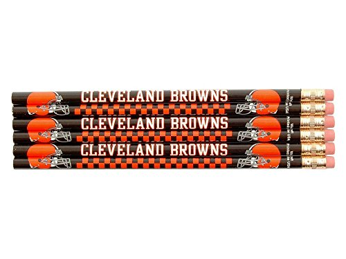 WinCraft NFL Cleveland Browns 15505015 Pencil (6 Pack)