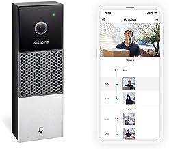 Netatmo - Timbre de vídeo Inteligente WI-FI, Audio, detección de Personas, sin tarifas de suscripción, cámara HD 1080p, vi...