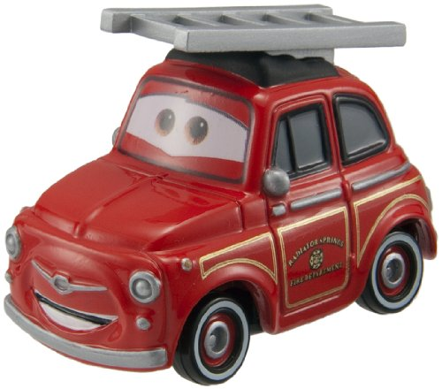 Takara Tomy Tomica Cars Rescue Go Go Luigi (Fire Engine Type)