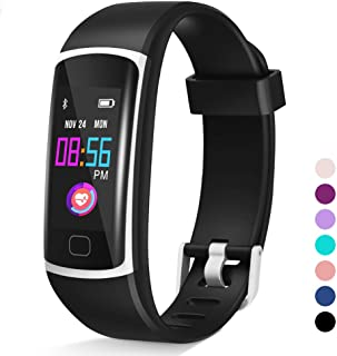 ?2020 Version? Upgraded Fitness Tracker, Waterproof Activity Tracker with Heart Rate Monitor and Sleep Monitor, Step Counter,Calorie Counter,Fitness Watch for Women Men Kids
