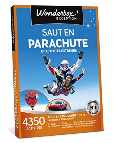 Coffret Wonderbox Saut en parachute et activité extrêmes
