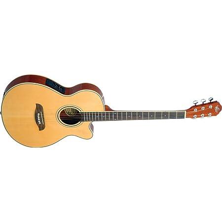 Natural Right Oscar Schmidt 6 String OG10CE Cutaway Acoustic-Electric Guitar OG10CESM-R