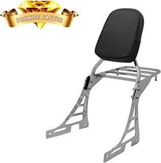 Sissy Bar Backrest + Luggage Rack For Harley-Davidson Sportster XL 883 1200 Nightster Forty Eight 2004-2013