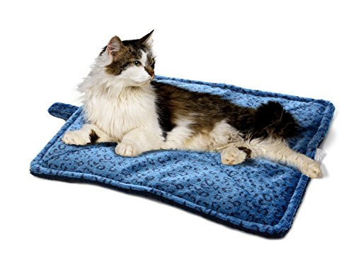 Milliard Thermal Cat Mat / Self Heating to keep Your Pet Warm and Reversible and Washable for Easy Maintenance - 23in x 30in