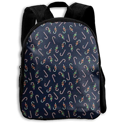 Daypacks Tier Cartoon Weihnachtsmann Lebkuchen Jungen Schule Umhängetasche Drucken Kinder Mädchen Rucksack Daypack Bookbag Casual