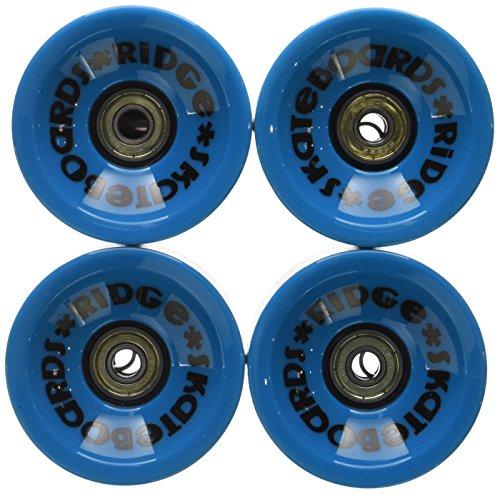 Ridge 70mm Longboard Wheels Skateboard Räder, Blau, 70 mm
