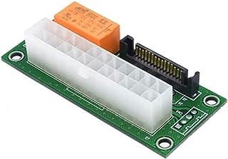 2 حزمة مزدوجة PSU محول إمدادات الطاقة المتعددة، ad2psu Sata ATX 24pin إلى موليكس 4Pin موصل (2 قطعة)