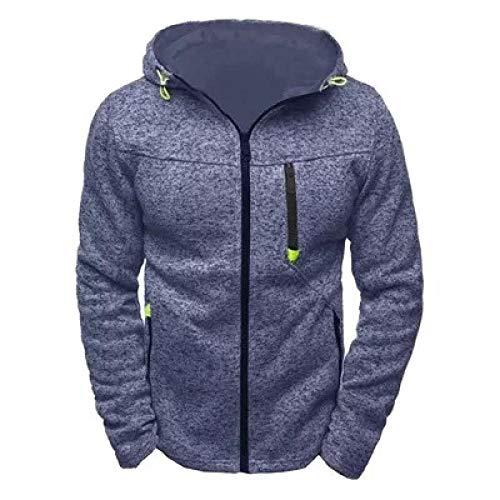 llzshoutao Sweat-Shirt de Fitness pour Hommes Printemps Top Veste Polaire Plus la Taille Slim Confortable Loisirs de Plein air Jogging à Manches Longues Chemise Chaude-Zhang Qing_S