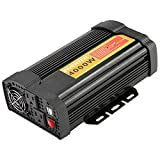 Power Inverters, 12V DC to 110V AC 4000W Car Auto Voltage Transformer Inverter Converter Car Charge