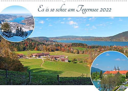 Es is so schee am Tegernsee 2022 (Wandkalender...