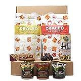 Caja Regalo Original Vegano | Embutido Vegano | Patés vegetales | Dátiles Medjoul - Barritas naturales - Snack Artesano