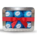 Rejuvelle Bath Bomb Gift Set -6 All Natural Soothing Sinus, Allergy, And Congestion Relief Fizzies. Eucalyptus, Peppermint Essential Oils to Help You Breathe Easy! Enjoy a Moisturizing Fizzy Fun Bath.