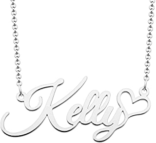 Roy Lopez Personalized Name Necklace Customized 925 Sterling Silver Prime Pendant Jewelry for Women