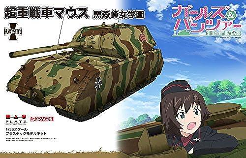 100% precio garantizado Girls und Panzer 1 35 super-heavy tank mouse Kuromori Mineon'na Mineon'na Mineon'na Gakuen plastic model GP-24  60% de descuento