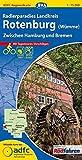 ADFC Regionalkarte Radlerparadies Landkreis Rotenburg (Wümme) mit Tagestouren Vorschlägen, 1:75.000, reiß  und wetterfest, GPS Tracks Download: Zwischen Hamburg und Bremen (ADFC Regionalkarte 1:75000)