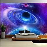 JINHECH Papier Peint 3D Mur De Fond Tv Paysage de galaxie cosmique Salon Chambre Moderne Papier...