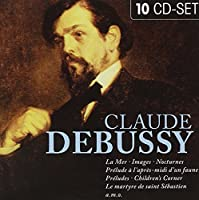Claude Debussy 10 cd collection by Claude Debussy (2011-12-06)