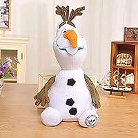 ぬいぐるみ30cm冷凍オラフ漫画アニメ雪だるまオラフ子供用ぬいぐるみギフトジュゲ