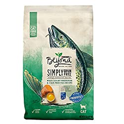 Purina Beyond Natural Grain Free cat food with Ocean Whitefish