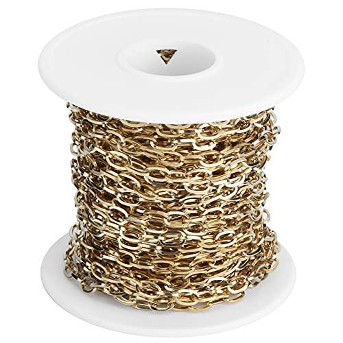 Gaeirt Cadenas de joyería, Cadenas de eslabones duraderos para Collares