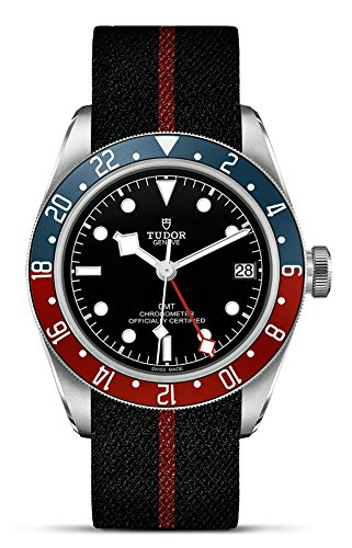 Tudor Herren-Armbanduhr Black Bay GMT Red Blue Pepsi M79830RB-0003
